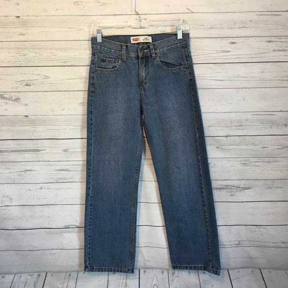 Levi's Other - Levi's 550 Boys Straight Leg Jeans 14R